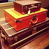 Louis Vuitton trunks are always at the top of our wish list.