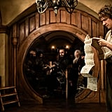 Martin Freeman as Bilbo Baggins in The Hobbit: An Unexpected Journey.