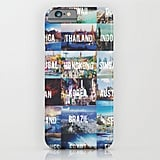 Mark off the places you wish to visit with this iPhone case ($35).
