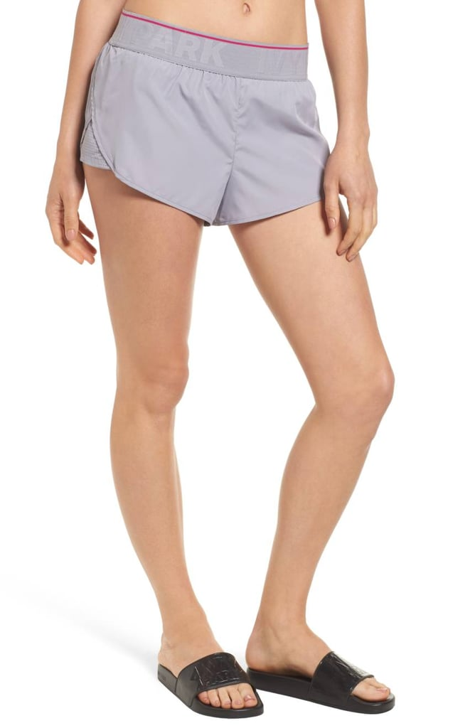 Ivy Park Perforated Panel Runner Shorts