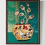 Poppies Vase Wall Art