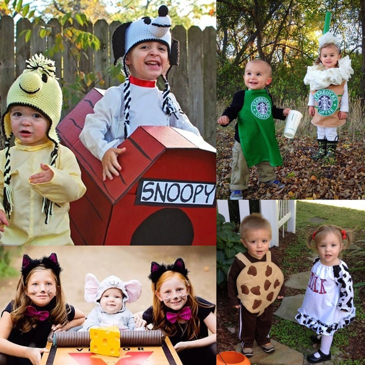 Matching Sibling Costumes For Kids Halloween Popsugar Family