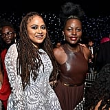 آفا دوفيرناي ولوبيتا نيونغو في حفل توزيع جوائز اختيار النقاد لعام 2020