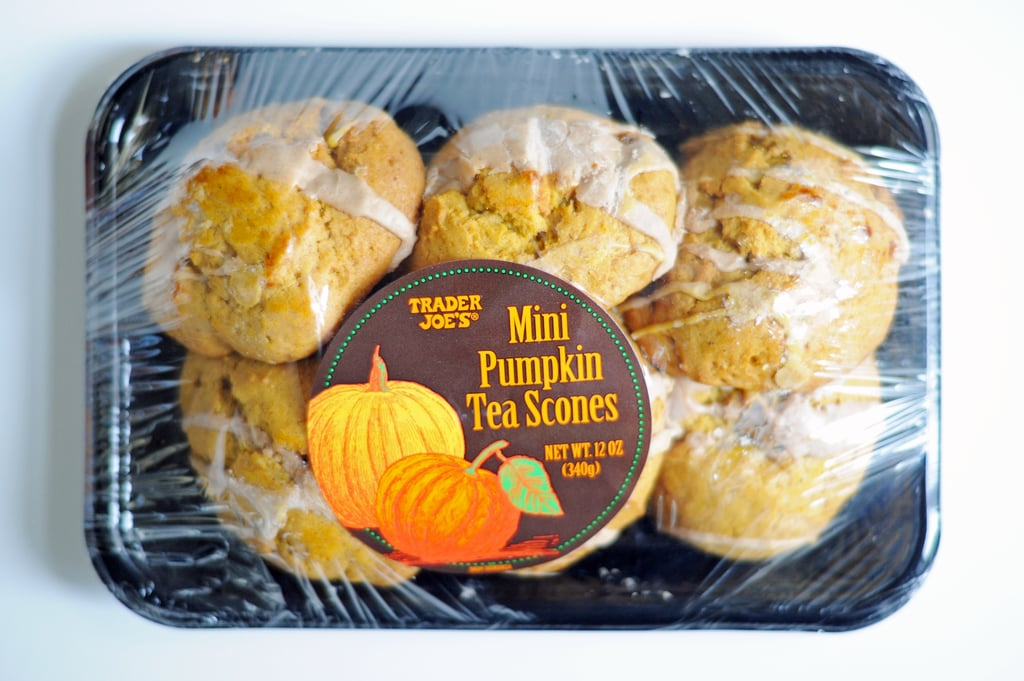 Trader Joe's Mini Pumpkin Tea Scones