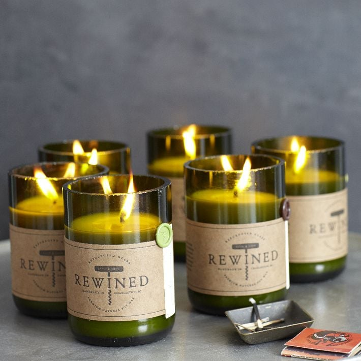Here's a fun spin on bringing a bottle of wine: a wine candle! West Elm Rewined Candles ($20, originally $25) come in all different wine-inspired scents, from Cabernet to Sauvignon Blanc.