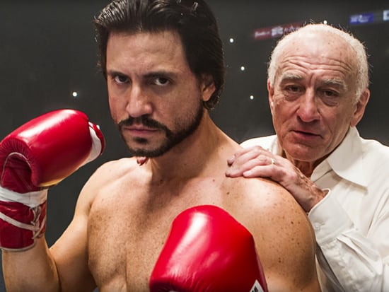 Watch Robert De Niro Coach the 'Anti-Raging Bull' Roberto Durán in Exclusive Clip from Hands of Stone