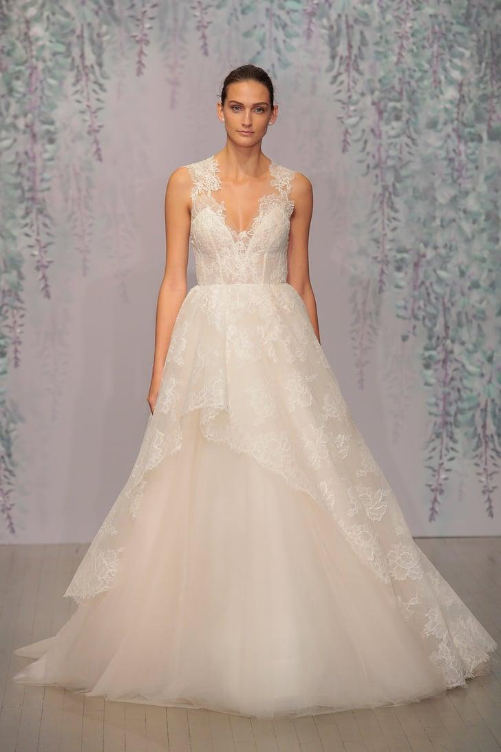Groß Monique Lhuillier Brautkleid Fotos - Hochzeitskleid Für Braut ...