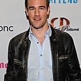 James Van Der Beek posed at the premiere of Life Happens in Century City.