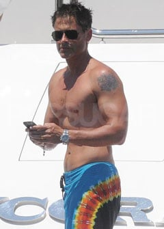 PopSugar Poll: Rob Lowe Gets Shirtless in Sardinia — Pass the Binoculars or Time to Head Inside?