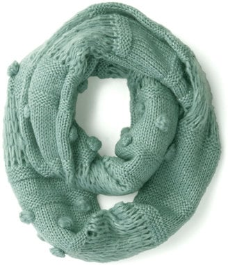 Modcloth's Mint to Charm circle scarf ($25) is about as sweet as they come.