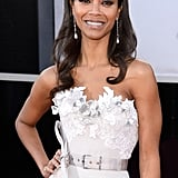 """She's still in talks, but it's likely Zoe Saldana will join Guardians of the Galaxy, opposite Chris Pratt. She would play a """"green-skinned humanoid"""" in the action-adventure film."""