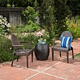 Taft Wicker Chat Set