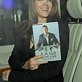 Elizabeth Hurley at the Ivy Club in London