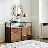Rivet King Street Industrial Four-Drawer Media Console Table