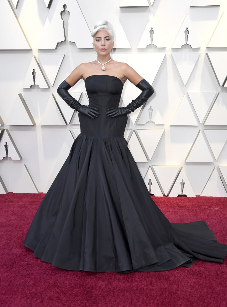 Lady Gaga's Dress at the 2019 Oscars | POPSUGAR Fashion