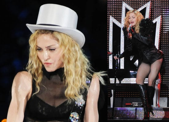 Photos of Madonna at Sticky and Sweet Show in Tel Aviv, Watch Celebration Video With Jesus and Lourdes