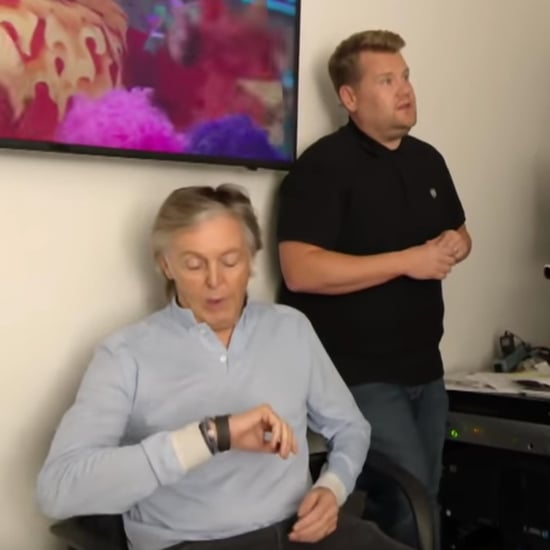 Paul McCartney Visits James Corden's Office Video