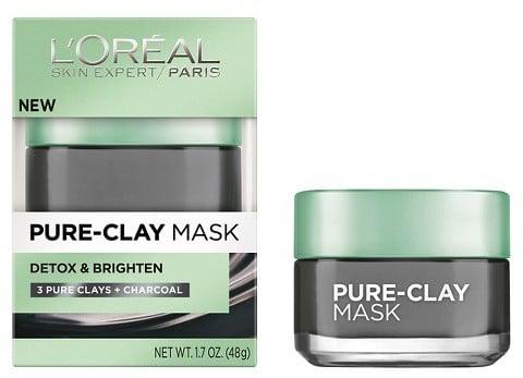 L'Oreal Paris Detox & Brighten Pure-Clay Mask