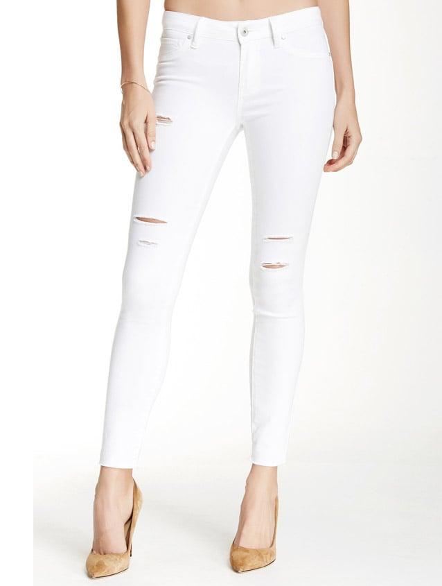 Melrose and Market Frayed Hem Skinny Jean ($50)