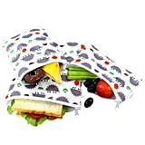 Langsprit Premium Reusable Sandwich & Snack Bags