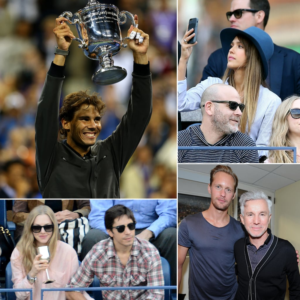 Celebrities at the 2013 US Open