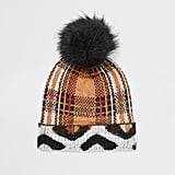 River Island Knitted Beanie Hat