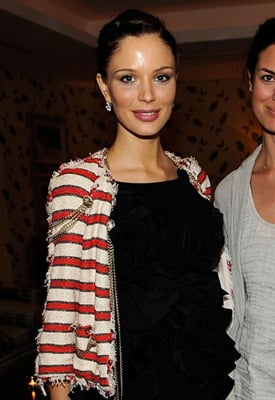 Georgina Chapman is Pregnant with First Child 2010-04-12 03:45:15