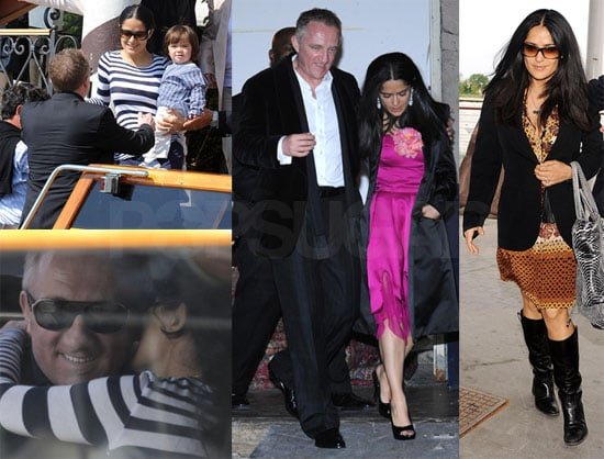 Photos of Salma Hayek and Francois-Henri Pinault's Wedding in Venice, Penelope Cruz, Valentina, Javier Bardem, Charlize Theron