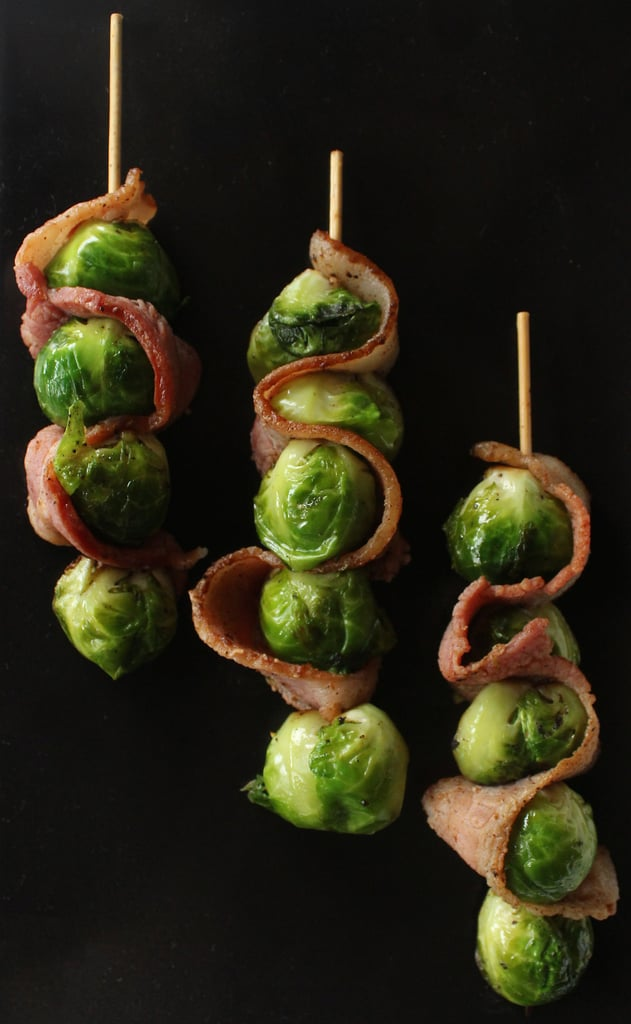 Bacon and Brussels Sprout Skewers