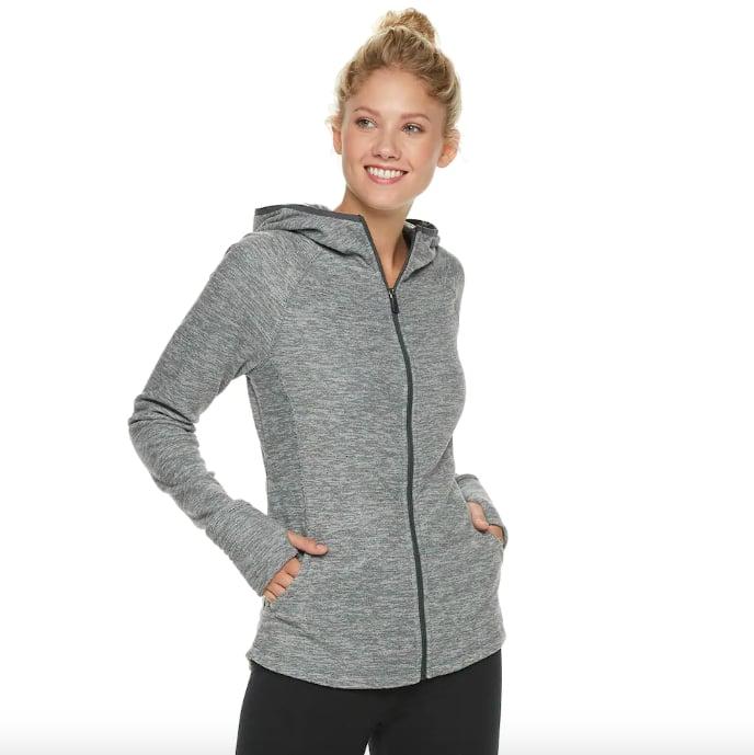 Women's Tek Gear® Microfleece Thumb Hole Jacket