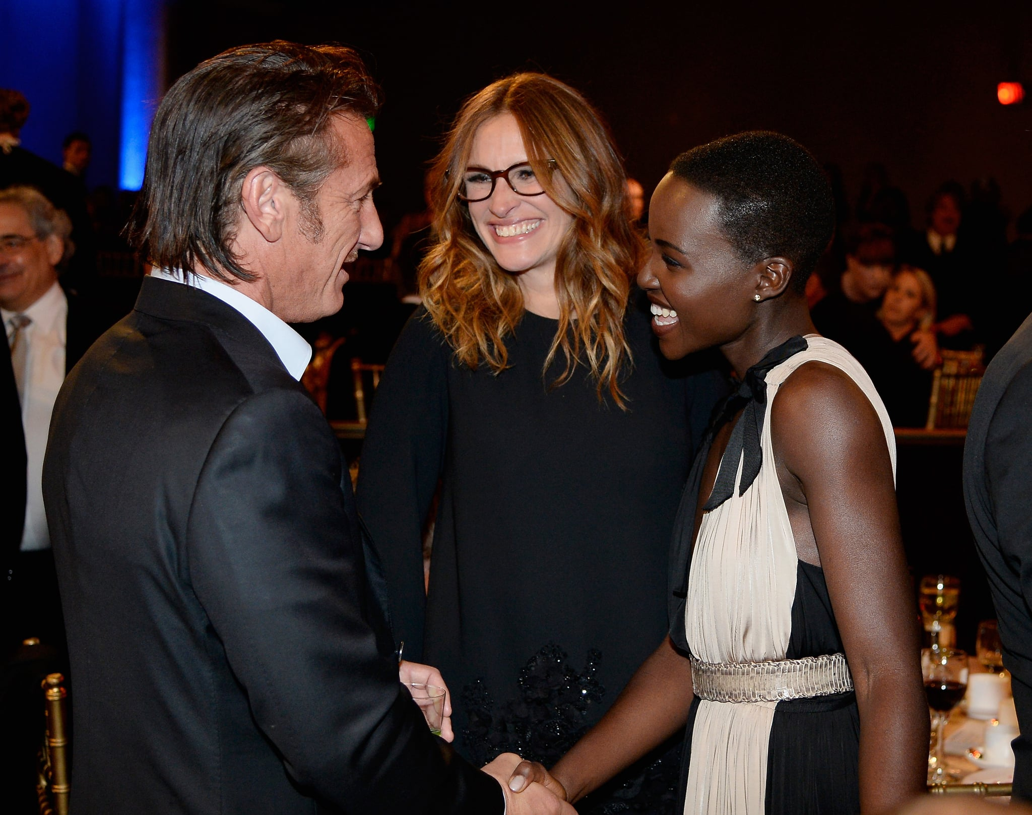 When Sean Penn and Julia Roberts Fussed Over Her