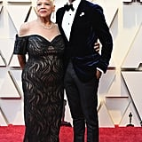 Michael B Jordan With His Mom at the 2019 Oscars