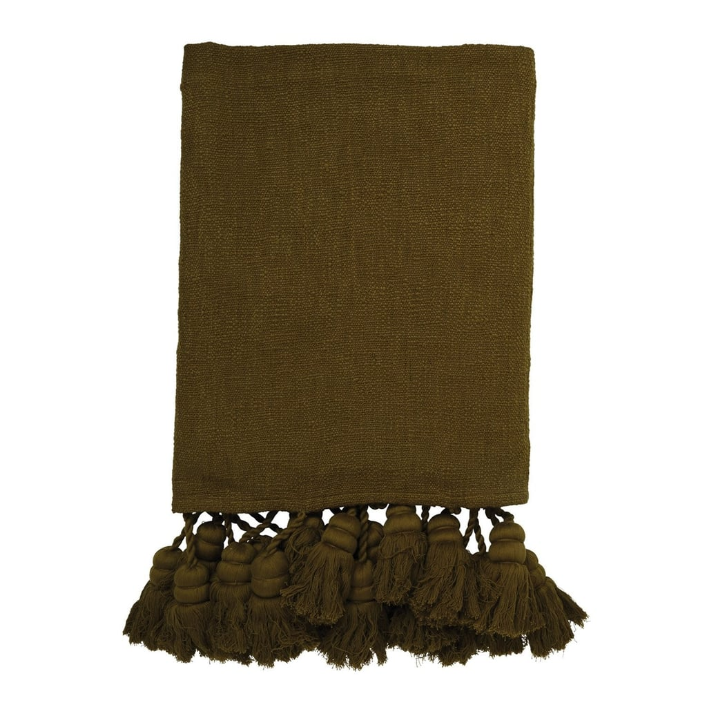 Kip&Co. Plantation Tassel Throw ($269)