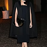 Poppy Delevingne made a stylish appearance at the London Fashion Week event for The Global Fund.