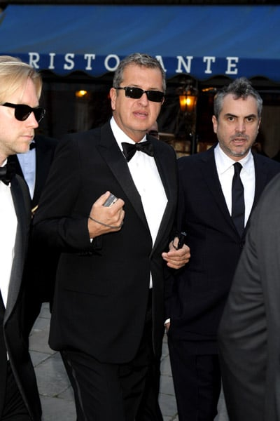 Mario Testino and Alfonso Cuaron, Photo by D. Venturelli/Wireimage