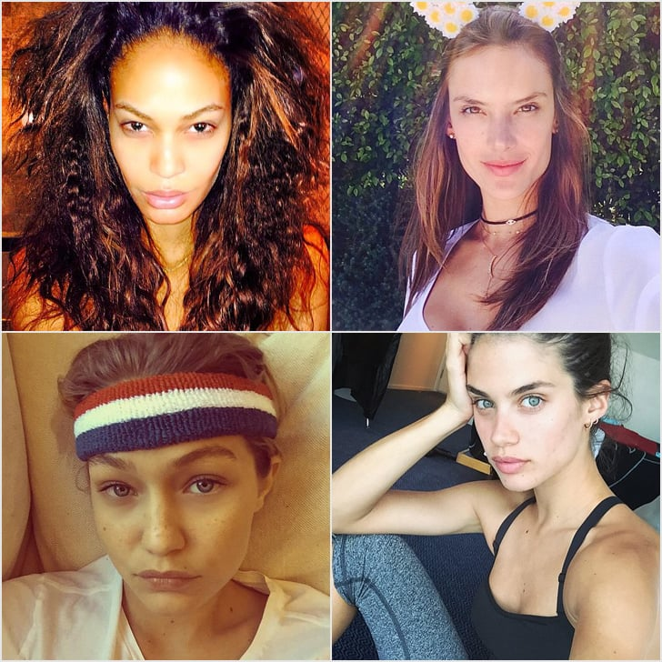 Victoria's Secret Models Without Makeup