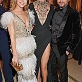 Tamara Ralph, Arizona Muse, and Michael Russo