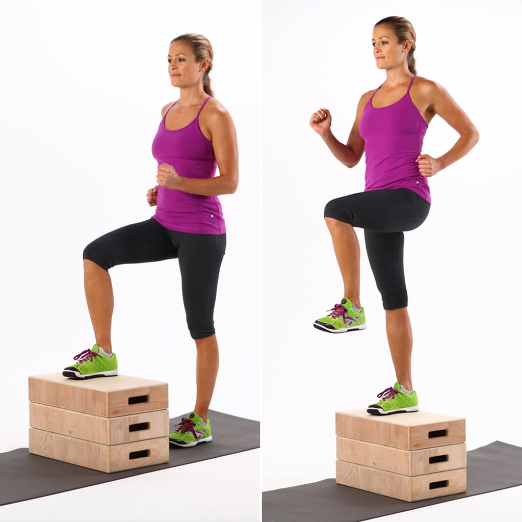 Aerobic Step Up Boxes: 7-Minute HIIT Workout