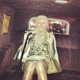 Heidi Klum gave a glimpse of her over-the-top Halloween costume — an elderly woman! Source: Instagram user heidiklum