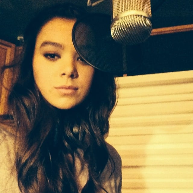 "Steinfeld posted: ""Serious Studio Selfie #pitchperfect2 #pp2."" Source: Instagram user haileesteinfeld"