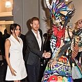 Kylie Jenner and Meghan Markle White Blazer Dress