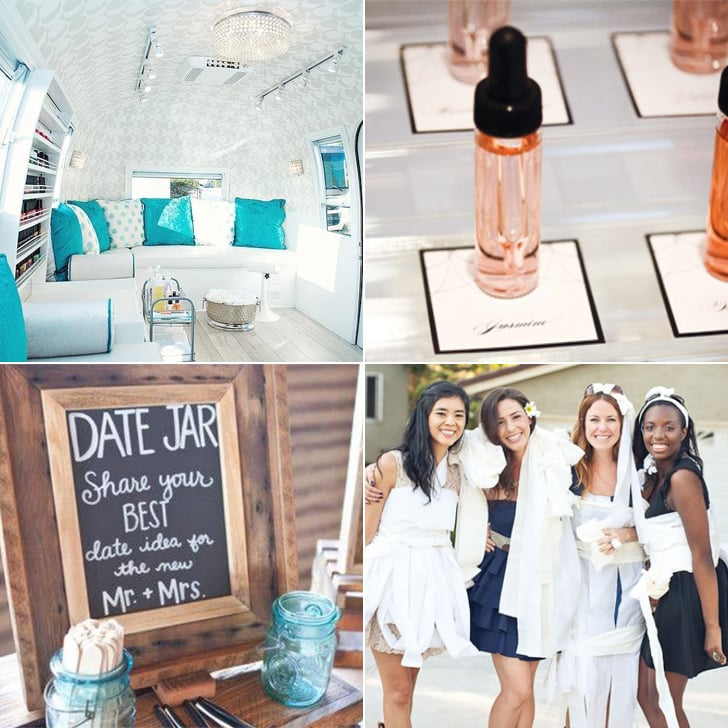 New Ideas For a Bridal Party