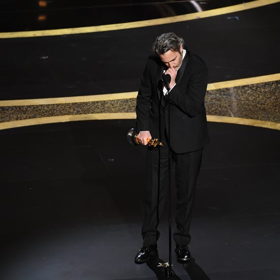 Joaquin Phoenix Pays Tribute to Brother River at the Oscars