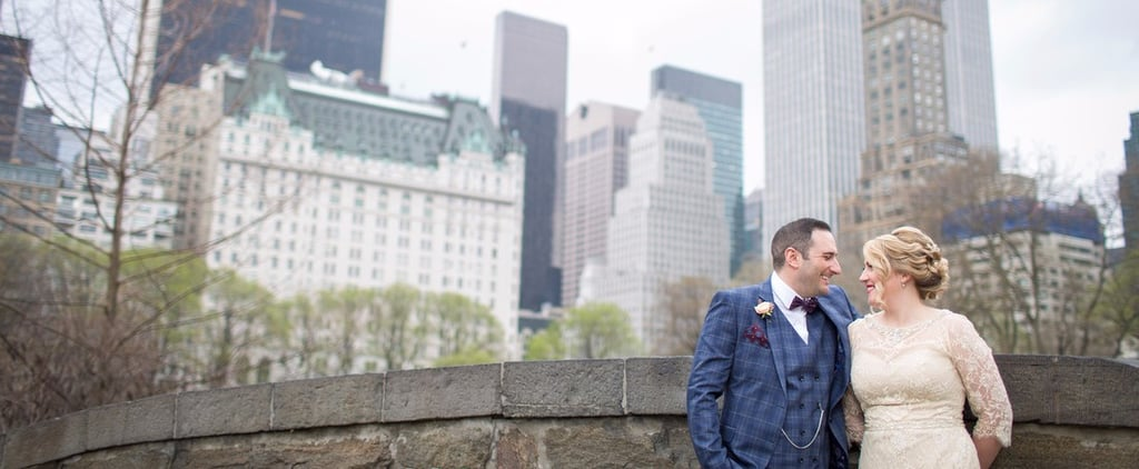Rain Moved This Wedding From Central Park to Grand Central Station, and It Was GORGEOUS