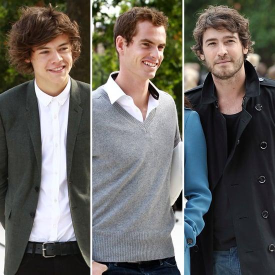 Celebrity Men at Fashion Week 2013