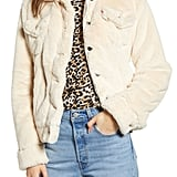 Levi's Faux-Fur Trucker Jacket