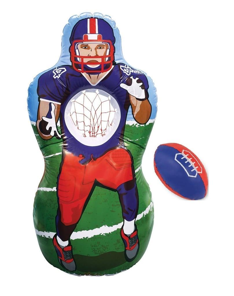 Lifesize Inflatable Football Target Set | Football Toys For Kids ...