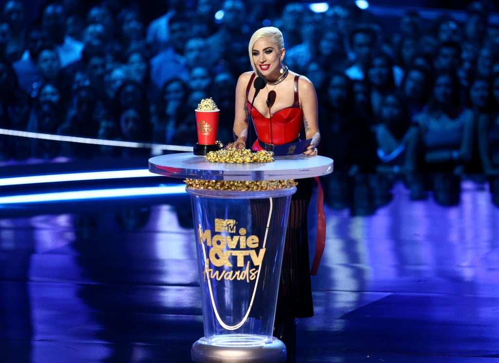 Lady Gaga at MTV TV and Movie Awards 2018
