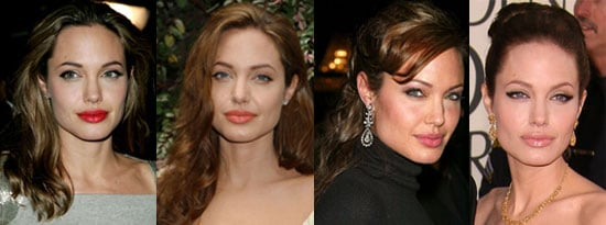 What Color Lipstick Looks Best on Angelina?