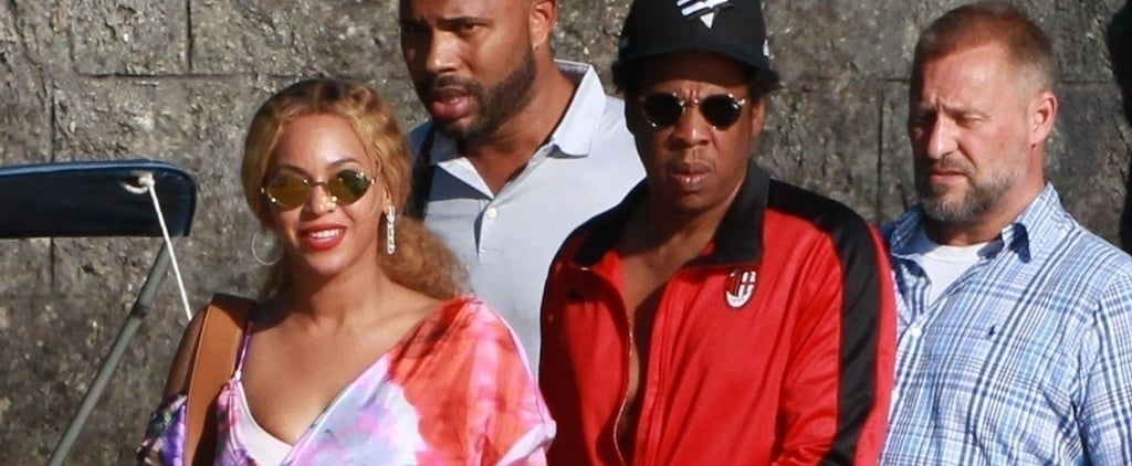 Beyoncé and JAY-Z in Lake Como July 2018